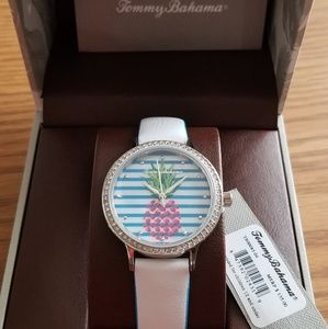 Tommy Bahama Pineapple / Crystal Bezel